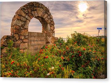 Gate To Nowhere  Canvas Print by Eti Reid