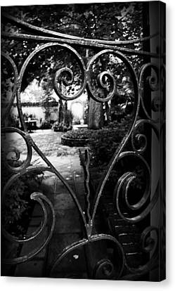 Gated Heart Canvas Print