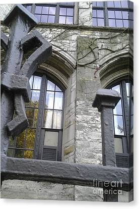 Gates And Windows Canvas Print by Susan Townsend