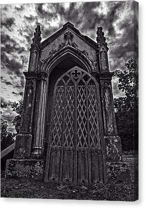 Canvas Print featuring the photograph Gates Of Hades by Andy Crawford
