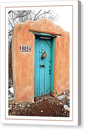 Gates Of Santa Fe II Canvas Print