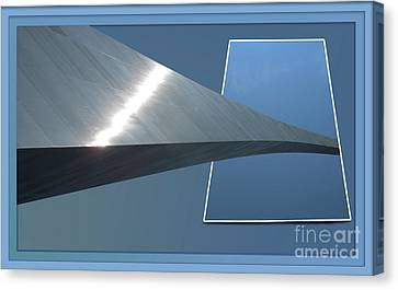 Gateway Arch St Louis 06 Canvas Print by Thomas Woolworth