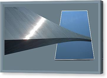 Gateway Arch St Louis 07 Canvas Print by Thomas Woolworth