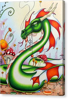 Gateway Dragon Canvas Print by Robert Ball