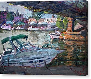 Gateway Harbor North Tonawanda Canvas Print