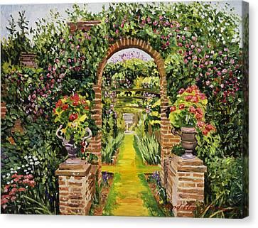 Gateway Of Brick Canvas Print