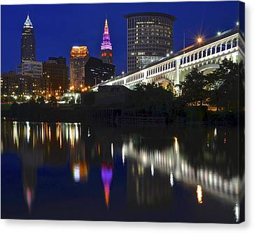 Gateway To Cleveland Canvas Print