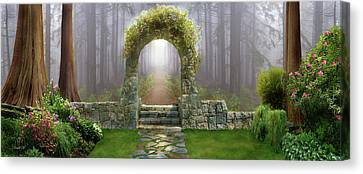 Gateway To Eternity Canvas Print by David M ( Maclean )