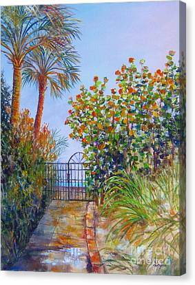 Gateway To Paradise Canvas Print