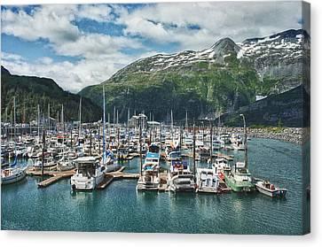 Gateway To Prince William Sound Alaska Canvas Print by Kim Hojnacki