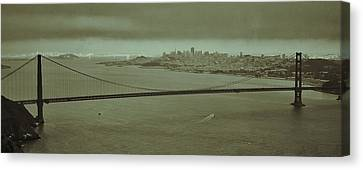 Gateway To The Bay Canvas Print by Dave Hall