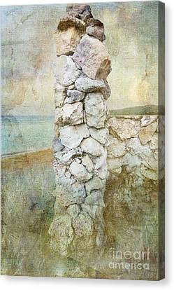 Gateway To The Sea Canvas Print by Betty LaRue