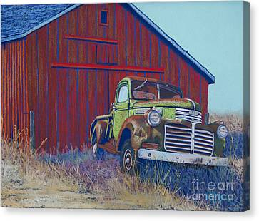 Gathering Memories Canvas Print by Tracy L Teeter