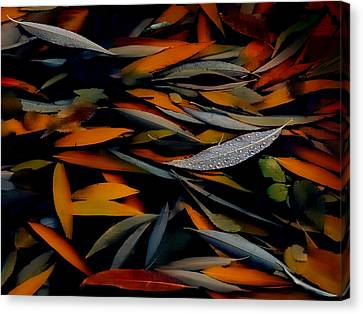Gathering Of Autumn  Canvas Print by Steven Milner