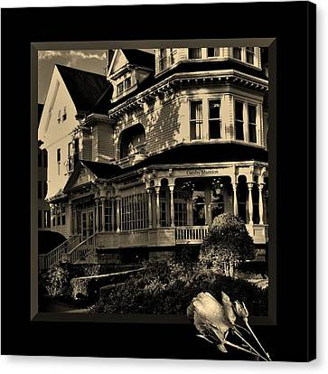 Gatsby Mansion Canvas Print by Barbara St Jean