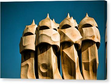 Gaudi's Soldiers  Canvas Print by Joanna Madloch