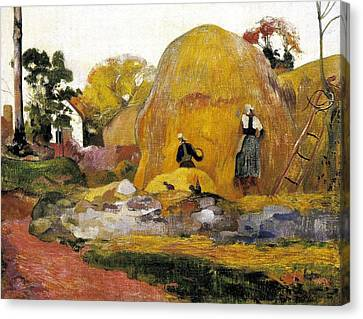Gauguin, Paul 1848-1903. Yellow Canvas Print