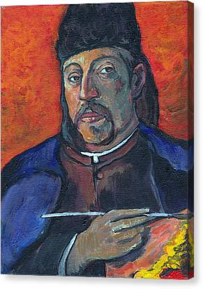 Gauguin Canvas Print by Tom Roderick