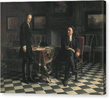 Ge, Nikolai Nikolaevich 1831-1894 Canvas Print by Everett
