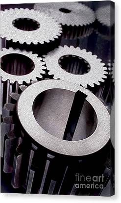 Gears Canvas Print by Jon Neidert
