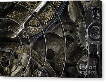 Gears Canvas Print by Vicki DeVico