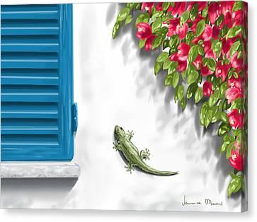 Geco Canvas Print