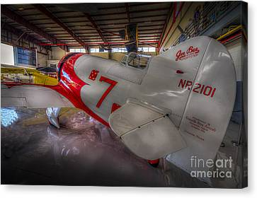 Gee Bee Super Sportster Canvas Print by Marvin Spates