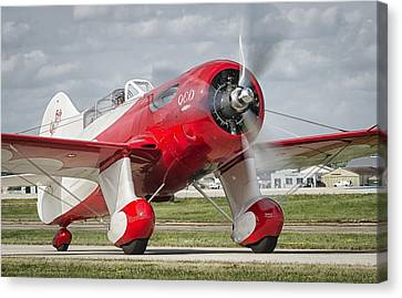 Gee Bee Taxi Canvas Print