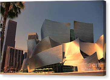 Gehry Tones Canvas Print