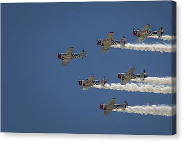 Geico Sky Typers  Canvas Print by Bradley Clay