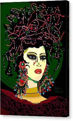Geisha 6 Canvas Print by Natalie Holland