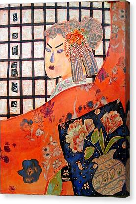 Canvas Print - Geisha Girl by Diane Fine