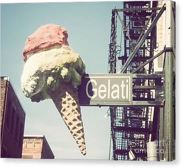 Gelati Canvas Print by Jillian Audrey Photography