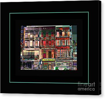 Gem Collection - New York In 1975 - Print Or Card Canvas Print by Miriam Danar