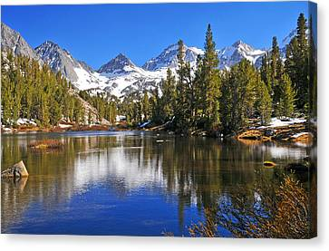 Gem Of The Sierras Canvas Print by Lynn Bauer