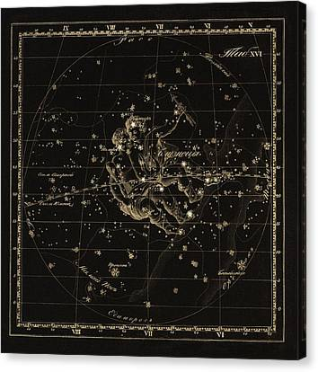 Gemini Constellation, 1829 Canvas Print by Science Photo Library