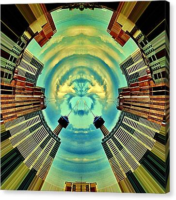 Gemini Canvas Print by Wendy J St Christopher