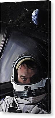 Gemini X- Michael Collins Canvas Print