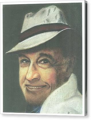 Gene Kelly Canvas Print by Ronnie Melvin