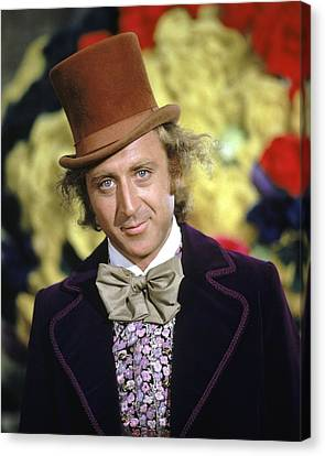 Gene Wilder In Willy Wonka & The Chocolate Factory  Canvas Print by Silver Screen