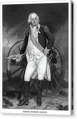 General Benjamin Lincoln Canvas Print by Historic Image