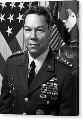 Iraq Canvas Print - General Colin Powell by War Is Hell Store