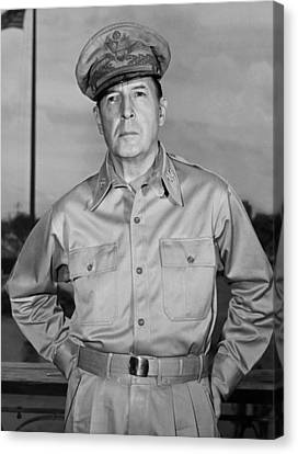 General Concept Canvas Print - General Douglas Macarthur by Andrew Lopez