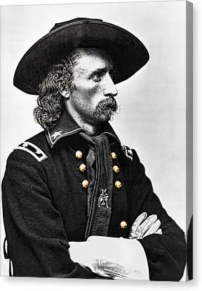 General George Armstrong Custer  Canvas Print by Daniel Hagerman