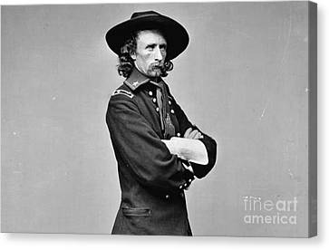 General George Armstrong Custer Killed 1876 Little Big Horn  Canvas Print by David Call