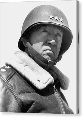 General George Patton Canvas Print