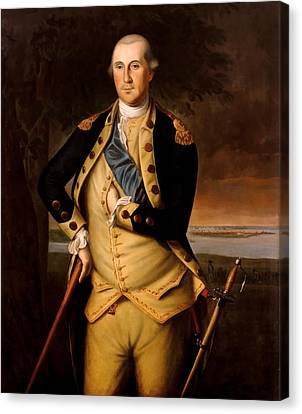 General George Washington  Canvas Print by War Is Hell Store