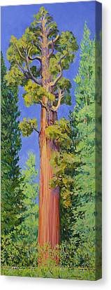 General Grant Tree Canvas Print by Joy Collier
