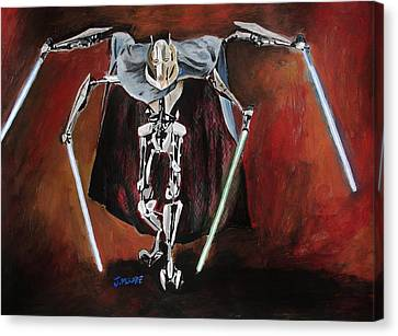 General Grievous Canvas Print by Jeremy Moore