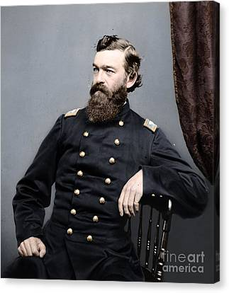 General James S Robinson Canvas Print